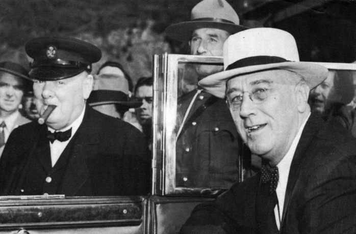 rencontre churchill roosevelt aout 1941